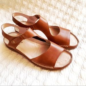New Pikolinos Cadeques Strappy Sandal Brandy 11